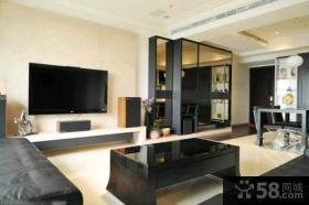 现代风格豪华客厅电视背景墙图片
