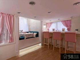 日式复式室内装修设计效果图大全2014
