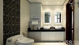 250平米中式风格公寓装修效果图