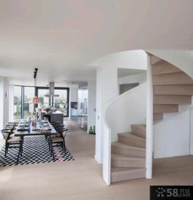 日式复式三居室户型家装效果图大全