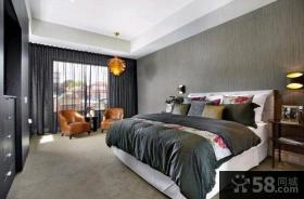 现代豪华时尚卧室设计效果图