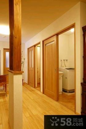 极简日式风格三室一厅室内装修效果图大全