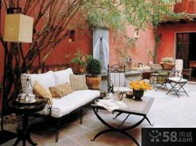 家庭装修设计开放式阳台效果图