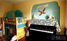 宜家装修设计儿童房效果图大全