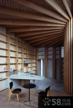 日式家居风格复式房屋装修效果图大全2014图片