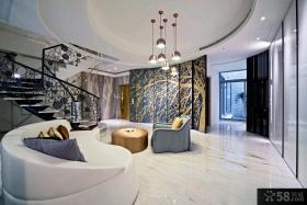 新古典风格别墅室内装修效果图大全2014