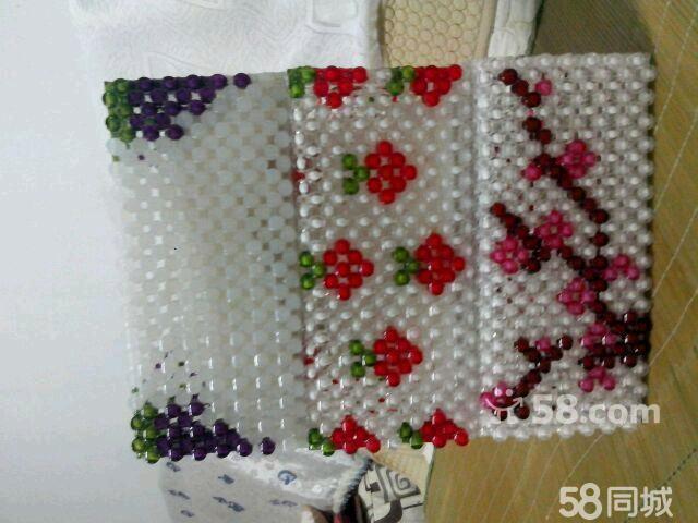 【图】手工编制串珠纸巾盒