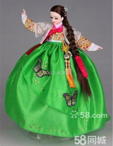 手工制作幼儿朝鲜服装步骤图片