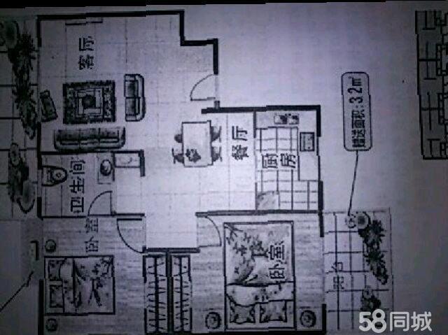 【图】桐洋新城 2室2厅1卫 - 海城二手房 - 北海58同城