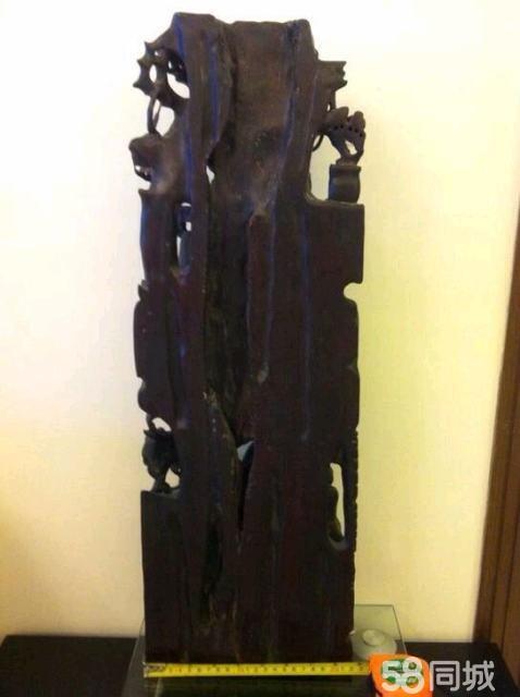 木头手工雕刻工艺品图片