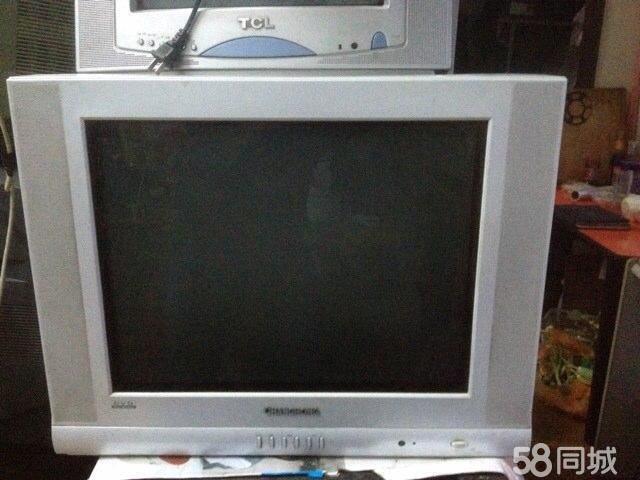 【图】长虹21寸纯平白色电视机