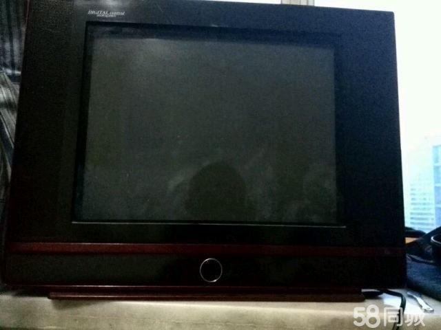 【图】二手白色电视机出售