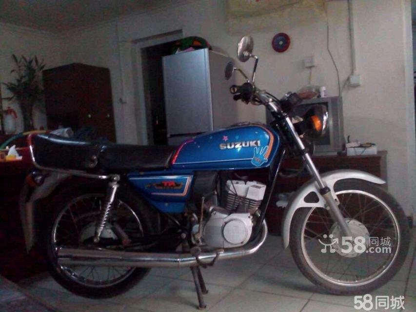 日本铃木摩托车125_铃木钻豹125摩托车图片