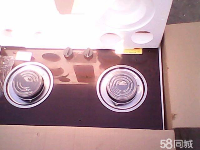 低价转让新未开封双眼燃气灶一台,欧式.青岛华南欧派节能聚能灶.