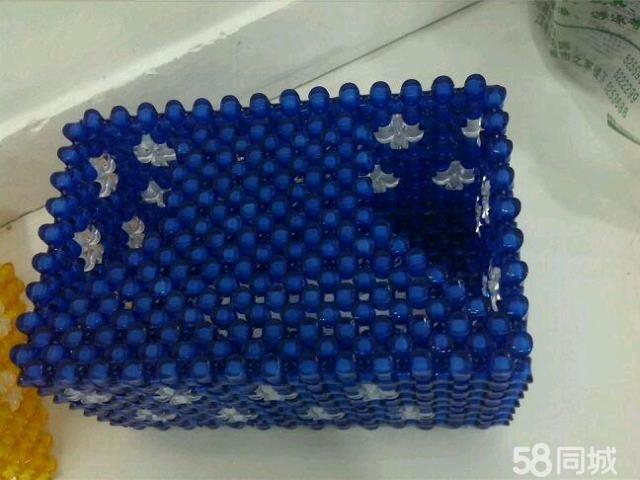 【图】纯手工串珠抽纸盒
