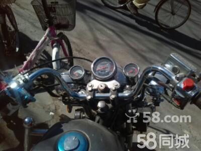 北京车辆买卖与服务 北京二手摩托车  发动机很好一下着车,轮胎换了图片