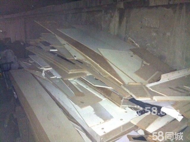 大型装修剩下的木板
