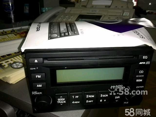 现代伊兰特 原车拆车cd机高清图片