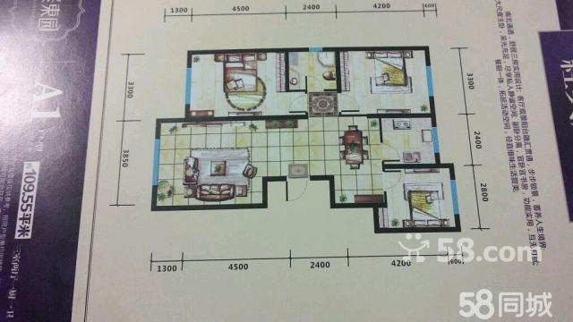 300平方一層房子3室1廳1廚1衛設計圖展示
