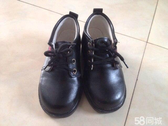 【图】小孩皮鞋 黑色儿童皮鞋