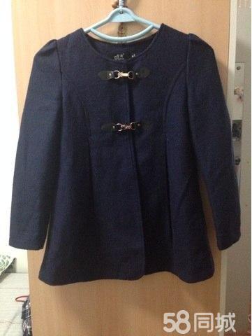 【图】藏青色呢子大衣