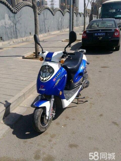 轻骑木兰125二手摩托车出售图片