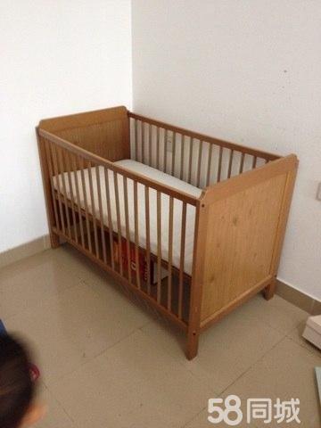 【图】宜家婴儿床送床围推车