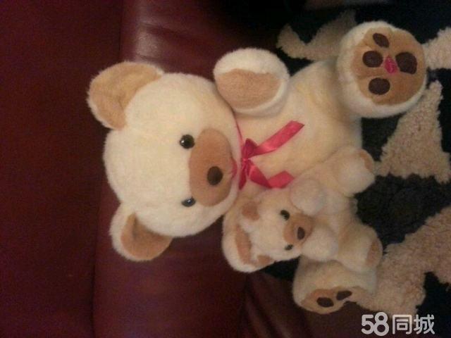 【图】可爱的毛绒玩具小熊