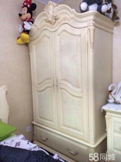 【图】圣美豪斯两开门衣柜 - 丰台青塔二手家具