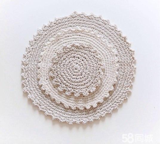 【图】妈咪的手工编织杯垫