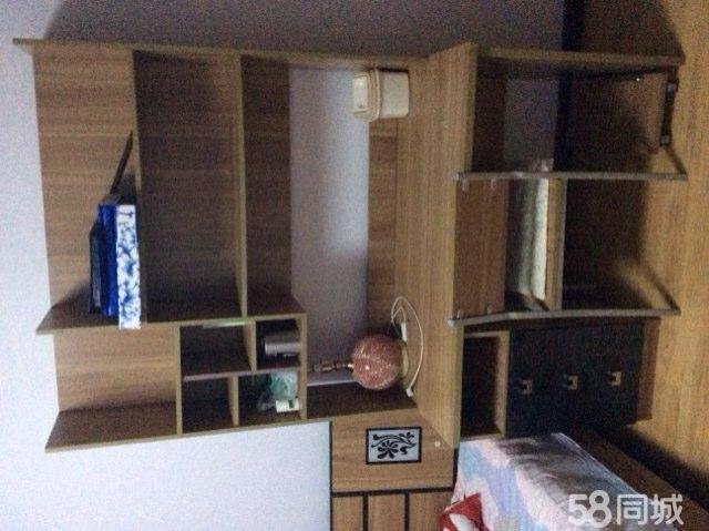 带书架的沙发 书架沙发背景墙 沙发书架 带书架的电脑桌