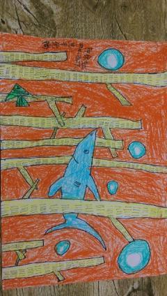 创意儿童画 装饰画 手工 素描 水粉图片