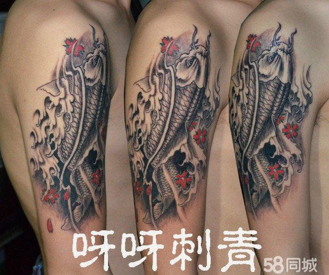 立体纹身 彩色纹身图片