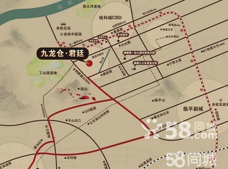 大型商业综合体——钱江国际广场(在建) 周边景观:超山风景区,西太洋