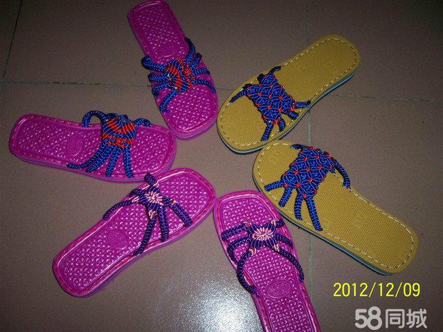 怎样编织凉拖鞋汇总; 手工编织拖鞋图案;
