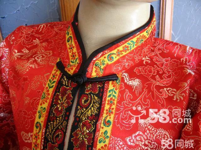 【图】新款正宗儿童唐装套装古装儿童服装男女唐装