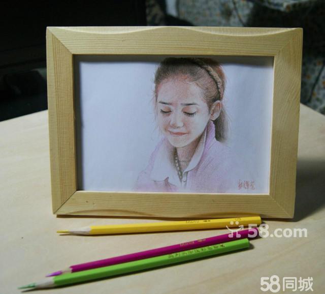 的风景彩铅画 初级铅笔素描风景画 铅-简单风景画的铅笔素描 铅笔图片