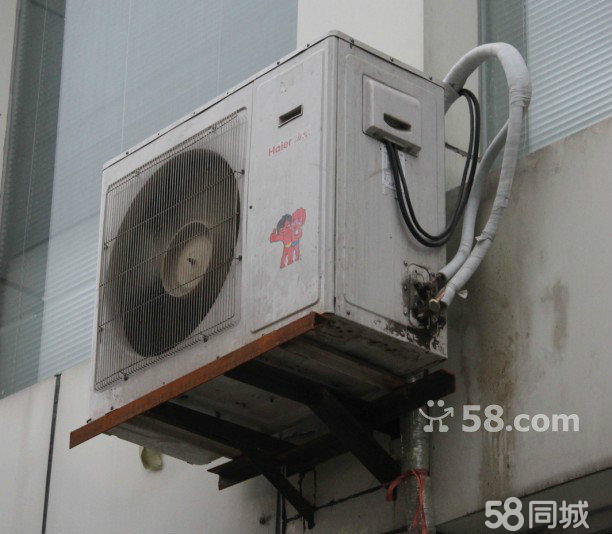 外机无锈无烂 维修史无拆无修 使用时间3-5年内 5匹柜式空调还在使用