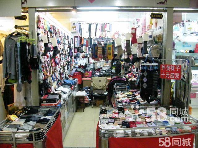 【图】店铺装修大量外贸袜子处理