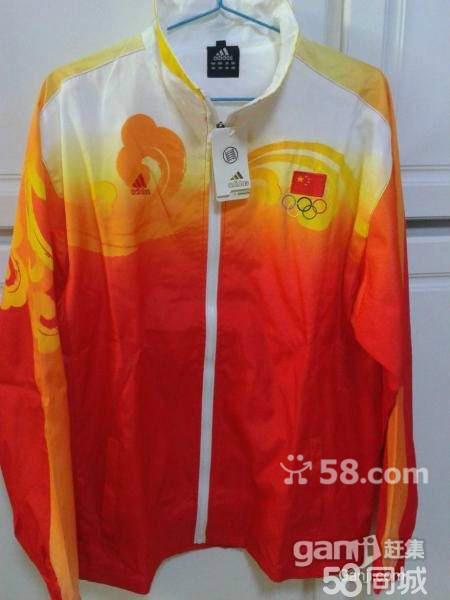 全新08年奥运会中国队队服图片