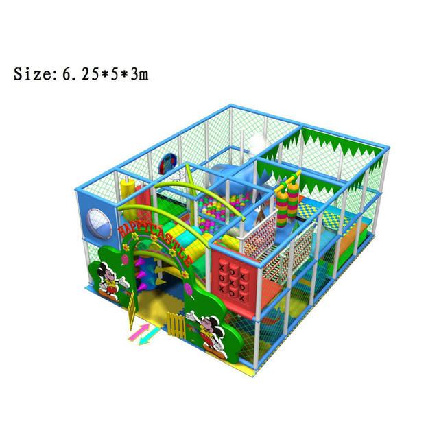 江西乐平室内儿童游乐园/淘气堡
