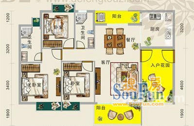 宽11长20米房子设计图