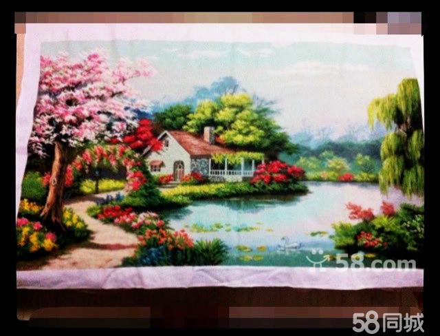 【图】全新山水风景画十字绣图