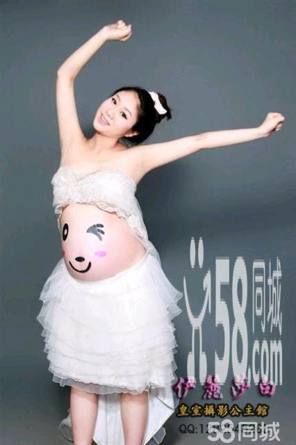直刘海孕妇照发型分享展示图片