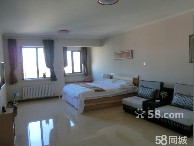 家庭宾馆呼伦贝尔市海 1室1厅49平米 精装修 押一付三