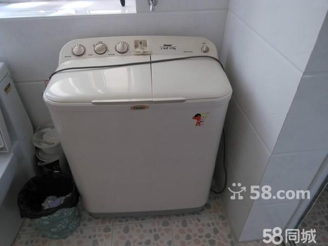 【图】海尔小神螺双缸洗衣机