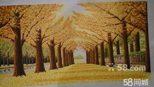【图】装订黄金(黄金树)十字绣图纸遍地组成图片