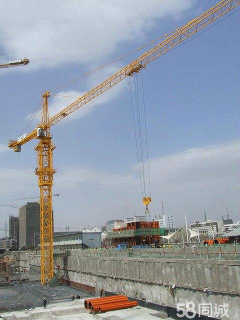中联塔吊5610(qtz80)带工地带23个标准节带5道扶墙