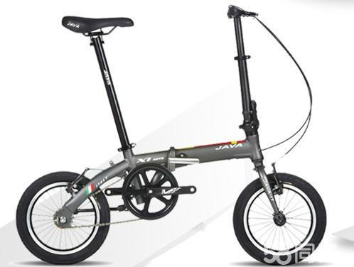 【图】JAVA折叠自行车X1-AUTO铝合金14寸2技视频吻教程教程图片