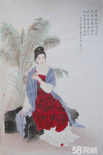 主攻工笔人物,花鸟,重彩,兼画小写意山水,花鸟.